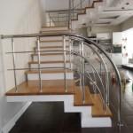 Лестницы с поворотом 90 градусов фото 13
