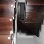 Лестницы на больцах: фото 14