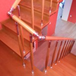 Лестницы с площадкой: фото 15