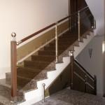 Лестницы с площадкой: фото 20