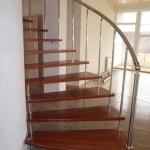 Лестницы на больцах: фото 24