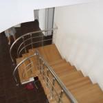 Лестницы с площадкой: фото 24