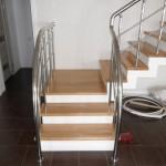 Лестницы с площадкой: фото 25