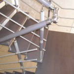 Лестницы с площадкой: фото 28
