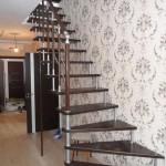 Лестницы на больцах: фото 33
