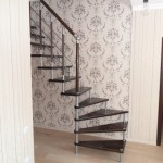 Лестницы на больцах: фото 34