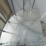 Лестницы на больцах: фото 39