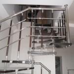 Лестницы на больцах: фото 4