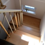 Лестницы на больцах: фото 42
