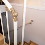 Лестницы на больцах: фото 43