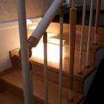 Лестницы на больцах: фото 46