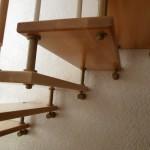 Лестницы на больцах: фото 48