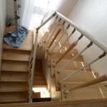 Лестницы на больцах: фото 50
