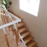 Лестницы на больцах: фото 60