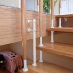 Лестницы на больцах: фото 63
