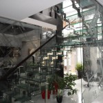 Лестницы из стекла: фото 8