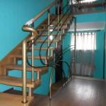 Лестницы с площадкой: фото 11
