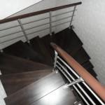 Лестницы на больцах: фото 12