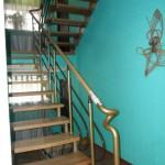 Лестницы с площадкой: фото 12