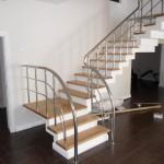 Лестницы с поворотом 90 градусов фото 12