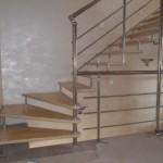 Лестницы с поворотом 90 градусов фото 16