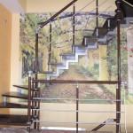 Лестницы с поворотом 90 градусов фото 17