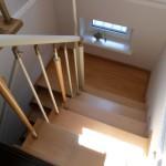 Лестницы с площадкой: фото 18