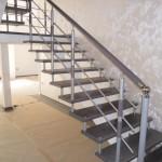 Лестницы с площадкой: фото 26