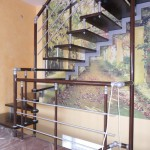 Лестницы на косоурах: фото 27
