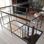 Лестницы на больцах: фото 28