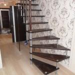 Лестницы на больцах: фото 32