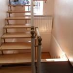 Лестницы на больцах: фото 40