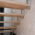 Лестницы на больцах: фото 45