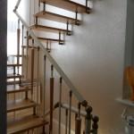Лестницы на больцах: фото 47