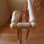 Лестницы на больцах: фото 62